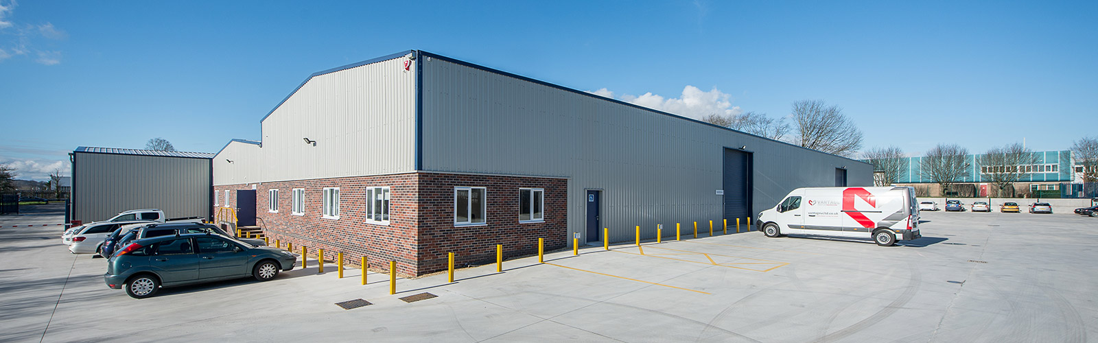 Our Premises. Vantage is now based at state-of-the art facilities in Telford, Shropshire with capacity to convert and store large fleets of vehicles.