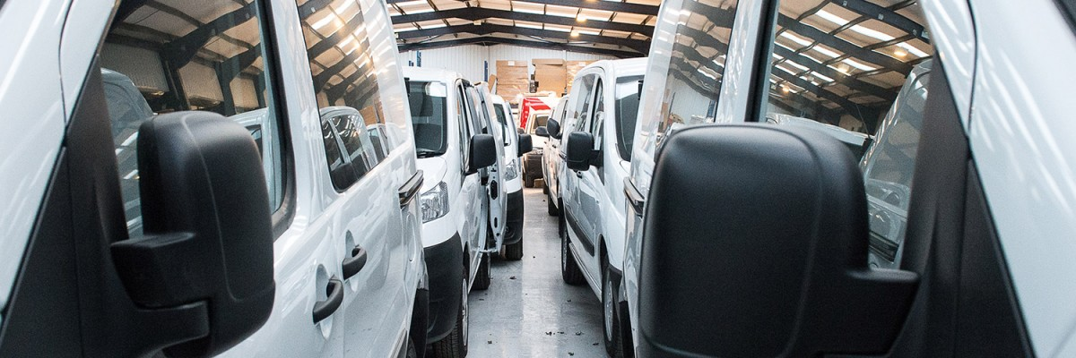 Vantage Vehicle Conversions Delivers Van Conversion Services To Rental Companies Including Enterprise Flex E