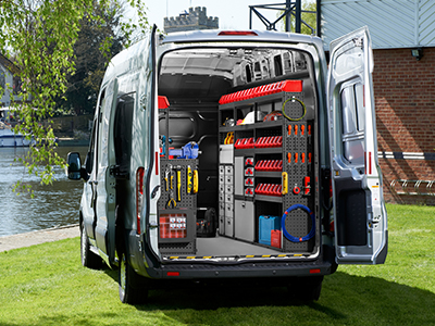 Vantage Vehicle Conversions is an authorised fitting centre for Tevo Van Racking Systems. To discuss your vehicle conversion call 01952 680433.