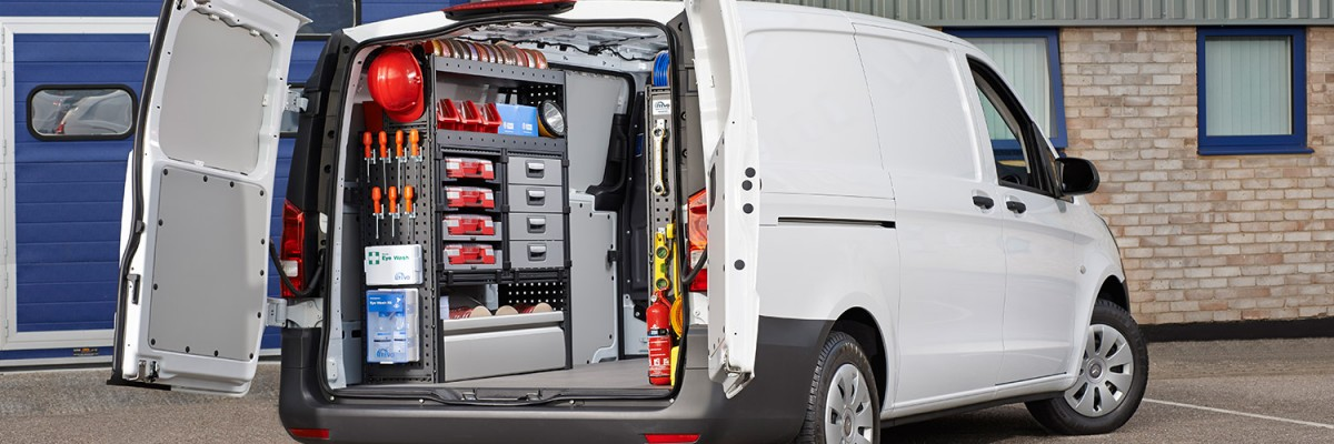 Vantage Vehicle Conversions, delivering Communication Company van conversions for the mobile installation & repair of coaxial & fibre optic cables.