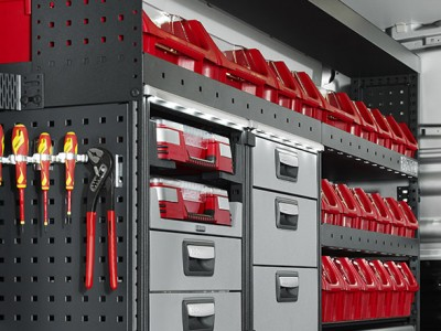 Vantage supply & fit a complete range of van racking solutions for all budgets and purposes. Vantage is an authorised supplier & fitter of Tevo van racking.