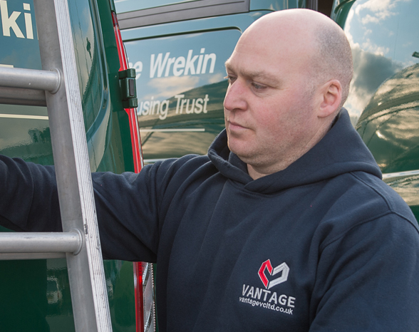 Contact Mike Wheeler, Operations Manager at Vantage Vehicle Conversions. Telephone number 01952 680433 or email mike@vantagevcltd.co.uk.