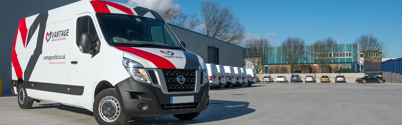 Shropshire-based Vantage Vehicle Conversions specialist in the transformation of vans. Call 01952 680433 to discuss your one off, or major fleet project.