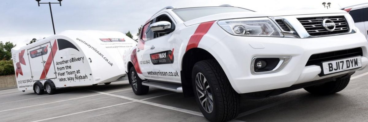 Vantage Vehicle Conversions, converting customer delivery vehicle conversions for West Way Nissan Fleet & Leasing premier vehicle delivery service.