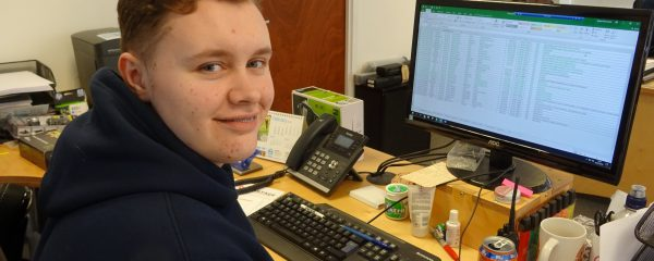 Vantage Vehicle Conversions Welcomes New Business Administration Apprentice - Zak North.